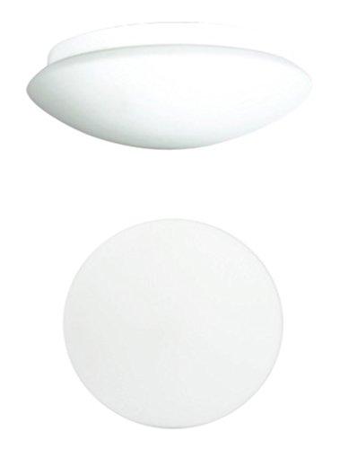 Trango IP44 LED Sensor Deckenleuchte, Deckenlampe mit Bewegungsmelder, Außenleuchte mit Sensor mit Echtglas inklusive 1x LED Leuchtmittel TGMV360LB