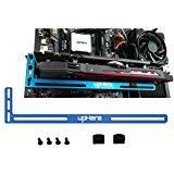 upHere Grafikkartenhalterung GPU blau