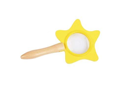 Cxjff Lupa con luz Experimento científico for niños Juguete con Lupa, Lupa de Estrella portátil...