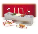 Nemco (88100-CB-2) Condiment Bar w/ 2 Pu...