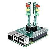SB Components pitraffic Educational Traffic Light Hinzufügen auf Shield Hat für Raspberry Pi 3, 2und Zero von crowdfunded au