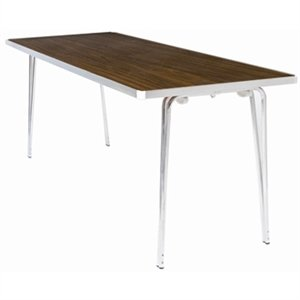 Gopak Dm940 Contour Table pliante en teck,