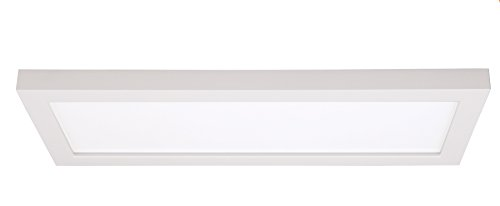 Satco Products S9368 Blink Flush Mount LED Fixture, 16W/18 x 5, White by Satco -