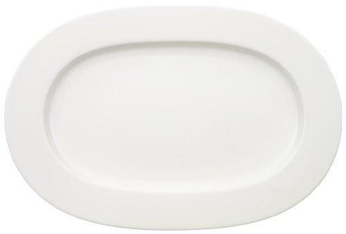 Villeroy & Boch Royal Plat oval, 41 cm, Porcelaine Premium Bone, Blanc