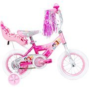 12 Huffy Disney Princess Girls' Bike with rear royal doll carrier! by Huffy