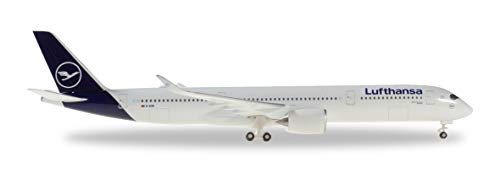 Herpa 532983 Lufthansa Airbus A350-900-new Colors, Mehrfarbig