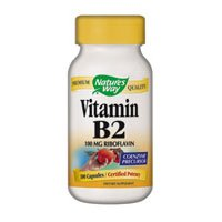 Nature's Way Vitamin B-2 by Nature's Way