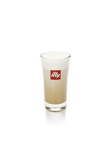 Illy Espresso, Latte Macchiato Glas 6 St. wunderschönes Design