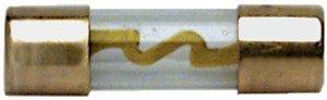 hs23043Packung 4Stück Sicherungen Glas Größe 10x 38mm Serie Gold Agu-gold-serie