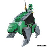 Mega Bloks Power Rangers Samurai BearZord