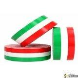 StickersLAb - Fascia banda adesiva Tricolore bandiera Italia a strisce in 4 misure (1cm, Lunghezza - 1 metro)