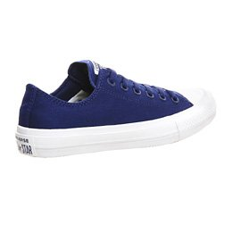 Converse CT As II Ox Tencel, Basses Mixte Adulte blanc/bleu