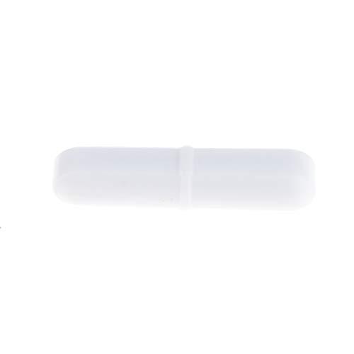 Unbekannt PTFE Magnetrührstäbchen Rührfische Labor Magnetic Stirrer Mixer Stir Bar, Weiß - B8x40mm