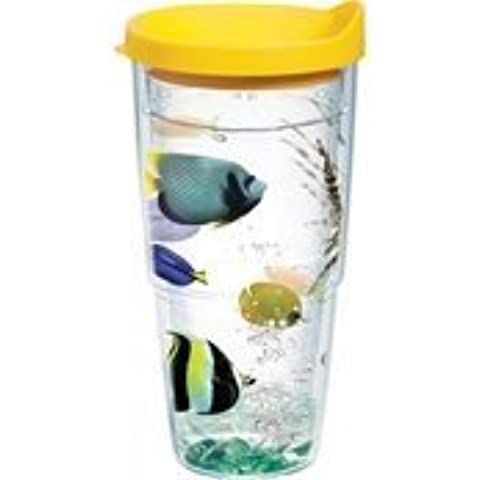 Tervis Tumbler Colorful Tropical Fish Wrap 24oz with Travel Lid by Tervis