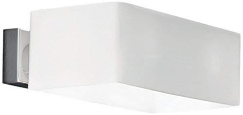 Applique Lampe Design Luminaire Murale Intérieur Moderne - Blanc/Verre Soufflé 09537n