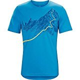 Arc'teryx Mens afterglo HW SS T-shirt - multicolore - X-Large