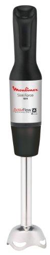 Moulinex Slimforce - Batidora de inox, 700 W, con accesorios