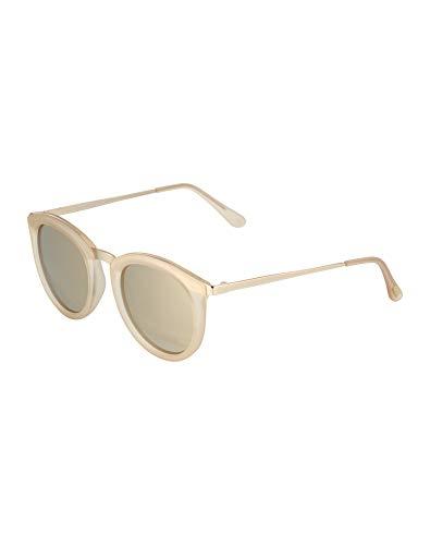 Le Specs Damen Sonnenbrille No Smirking Sand Rubber/Gold