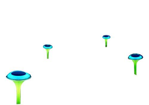"""Design Solarleuchte dual colour \""""Ufo\"""" 2er Set 16326"""