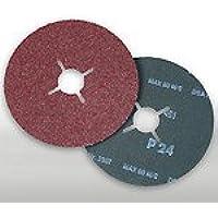 Fibra vulcanizada disco de 115 mm, grano 0024