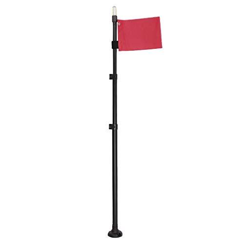 Lixada Boot Sicherheits-Flaggen Combo Kajak Flaggen Wasserdichte helle Lampe für Marinekanu-Zubehör