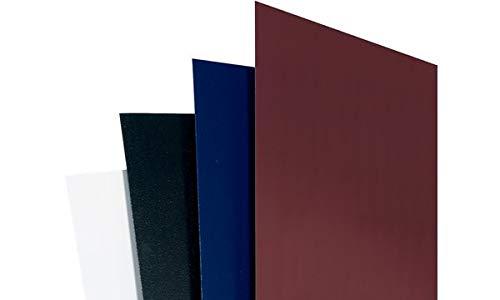 GBC Einbanddeckel ReGency, DIN A4, 325 g/qm, blau, Sie erhalten 1 Packung, Packungsinhalt: 100 Stück - Regency Bürobedarf