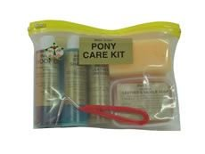 Dressing Schwamm (Pony Care Set, Gold Label, Huföl, Sattel Seife, Leder Dressing, Shampoo, Schwamm, Hufkratzer)