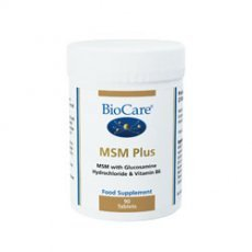 Biocare MSM Plus - Pack of 90 Tablets from Biocare