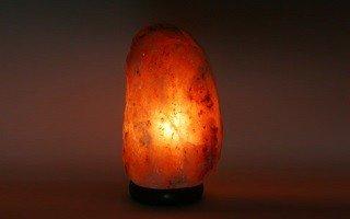 Biova Salz Kristall Stein Lampe Salzlampe Leuchte ca. 4 - 6 kg in 1A Qualität -