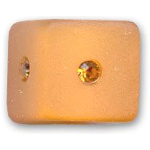 Cubo strass Polaris mm. 10 Topaz x1