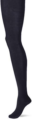 FALKE Damen Family W TI hautfreundliche Strickstrumpfhose, Blau (Dark Navy 6379), 44-46