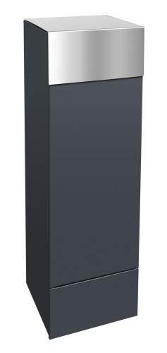 frabox Design Paketkasten Namur Edelstahl/Stahl lackiert