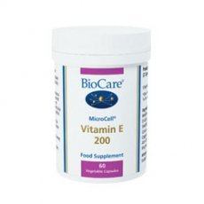 Biocare 200iu Vitamin E Vegetable - Pack of 60 Capsules from Biocare