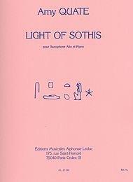 Light Of Sothis - Saxophone Mib et Piano
