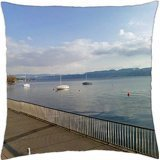 Lake Cottage-throw Pillow cover case (Lake Cottage)