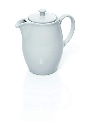 Kaffeekanne aus Porzellan, mit Deckel, 1,95 Liter Inhalt, 3 Verschiedene Größen, Premium...