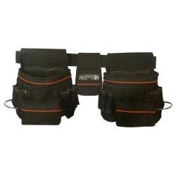 Cablematic - Cinturón para herramientas profesional de bolsillo doble