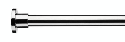 Croydex – Barra telescpica para cortina de ducha, color cromo
