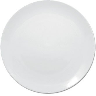 Olympia U075 Whiteware Assiette, Blanc (lot de 12)