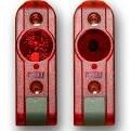 12 2 Draht (Lichtschranke Tormatic Sender+Empfänger Extra 626 LS 2-I (2-Draht) Reichweite -8 m 12-24V)