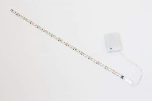 50cm LED RGB Leiste Strip e + Batterie box + Mini Controller Batteriebetrieben