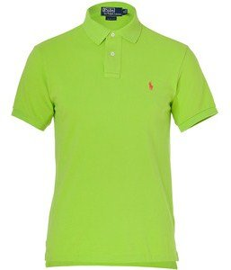 Ralph Lauren Men's Custom Fit Small Pony Polo Shirt, Marathon Green, M (Polo-pony-shirt)