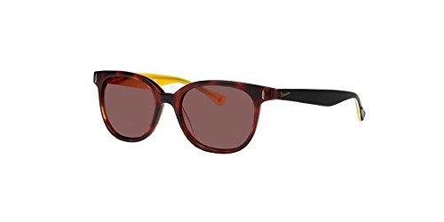 Preisvergleich Produktbild Vespa Sonnenbrillen PRIMAVERA VP 12PO TORTOISE YELLOW / BROWN Herrenbrillen