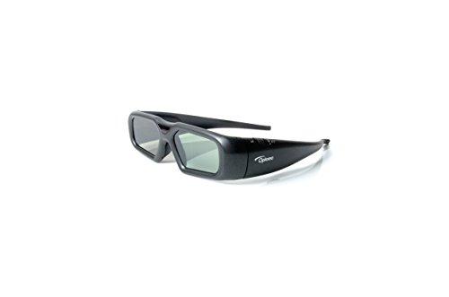 Optoma ZF2300 - Gafas 3D (Li-po, alcance 15 m, USB), color negro