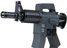 Nick and Ben Softair Pistole UHC XM177 Mini elektrische Airsoft Maschinengewehr, max. 0,49 J