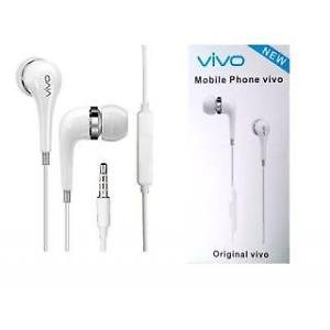 Vivo Handsfree Stereo Earphones with Mic for All 3.5mm Jack Compatible Devices