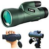 Gosky Skyhawk 10x50 Monocular - High Definition Waterproof Fog- Proof Shockproof Monoscope -Bak4