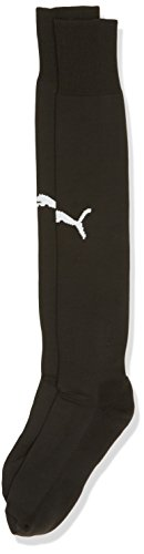 Puma Erwachsene Socken Team II Socks, Black-White, 4, 702565 03