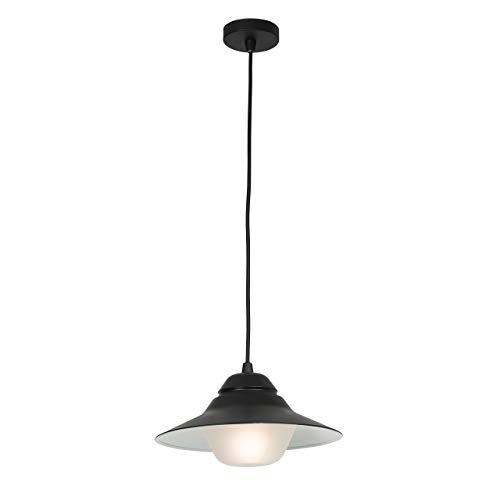 Brilliant Ma lmö Außenpendelleuchte, 1-flammig, E27, 1 x 42 W, Aluminium/Glas, anthrazit 96243/63