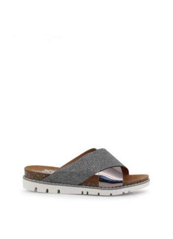 XTI Zapatos Mujer Sandalias 48115 Plomo Talla 37 Plomo
